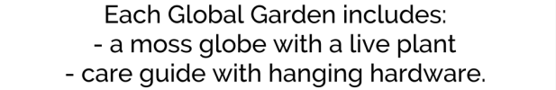 wordpress home page text box global gardens include